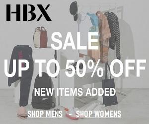 تقدم HBX كل شيء من الملابس والإكسسوارات والسلع التقنية التي تحتاجها.