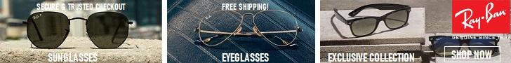 راي بان هي النظارة الوحيدة التي تحتاجها