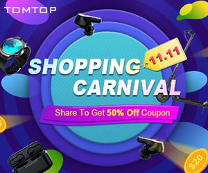 تسوق عبر الإنترنت بأفضل الأسعار في Tomtop.com